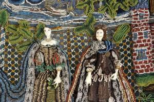 Holburne Museum beadwork-basket-detail