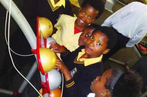 Science Museum launchpad