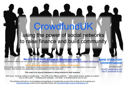Crowdfunding 3 March